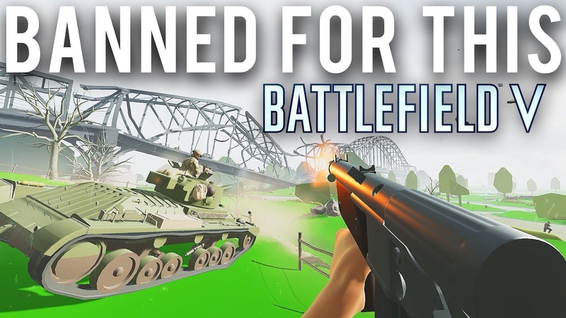 Battlefield 5 Banned for using this