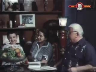 ЭКСКЛЮЗИВ. Расул Гамзатов в кругу семьи читает стихотворение