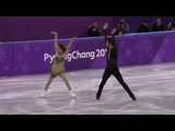 PAPADAKIS Gabriella CIZERON Guillaume. Short dance 2018 Olympics
