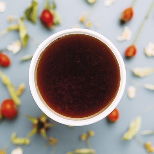 Ощути зиму: Чай Шиповник – Липа