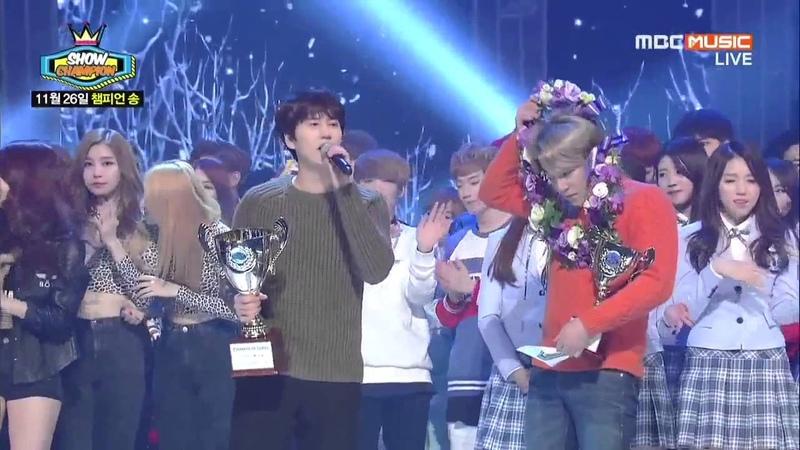 141126 圭賢 Kyuhyun 규현 - At Gwanghwamun 4TH WIN ENCORE