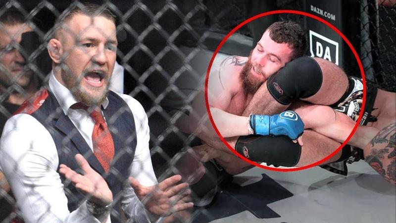 КОНОР СПАС БОЙ! Макгрегор помог бойцу выйти с травмой и победить