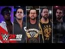 WWE 2K19 Entrances Undisputed Era Gargano Velveteen Dream Roderick Strong Andrade Cein Almas