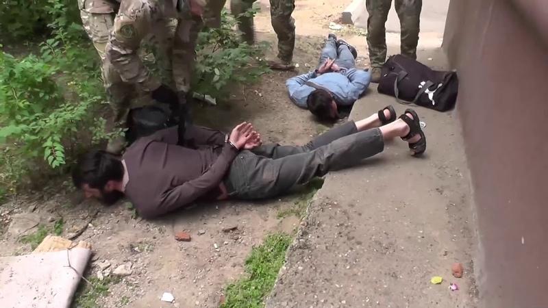 Задержания сотрудниками ФСБ РФ подпольной группы исламистов.