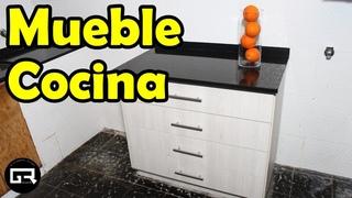 COMO HACER CAJONERAS PARA COCINA | How to make kitchen cabinets Part 1