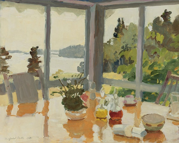Фэрфилд Портер, Fairfield Porter (1907 - 1975) США