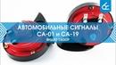 Автомобильные сигналы СА 01 и СА 19