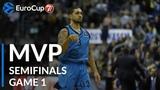 7DAYS EuroCup Semifinals Game 1 MVP Peyton Siva, ALBA Berlin