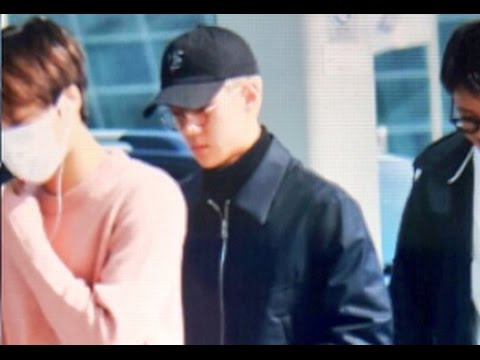 [FANCAM] 161011 EXO Xiumin Kai Sehun at ICN Airport