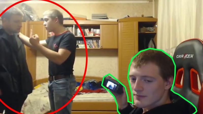 ДРАКА на хате VJlinka | Чип vs Андрей