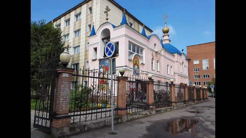 Протоиерей Евгений Суркин храм великомученика Георгия Победоносца г Новокузнецк 24 03 2019