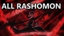 All Rashomon Uses from Bungou Stray Dogs