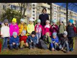 1 Слайд-шоу фотографий с фото съемки детей на прогулке в детском саду.