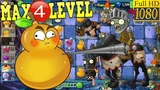 Plants vs. Zombies 2 (China) - Fire Gourd MAX 4 level - New Cavalry Zombie - Dark Ages Night 9