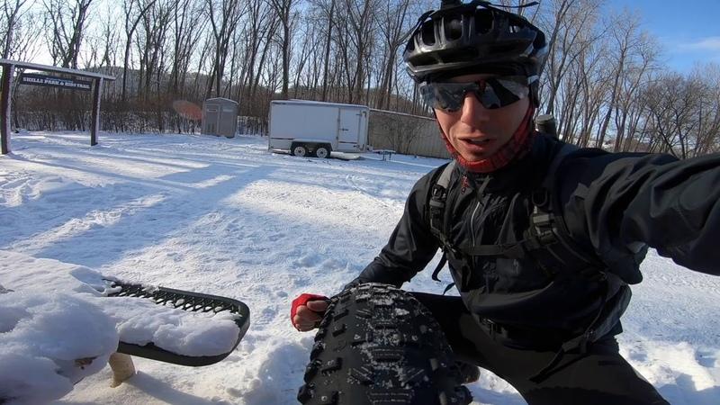 Fatbike Group Ride at Kiwanis Mountain Bike Trail