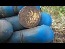 Поиск монет на выбитом месте.Нашли серебро коп 2019
