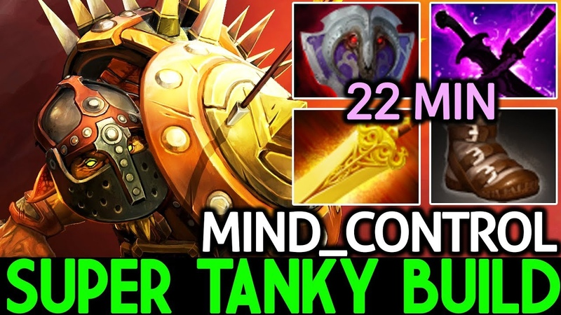 Mind_ControL [Bristleback] 22 Min Full item Super Tanky Build 7.19 Dota 2