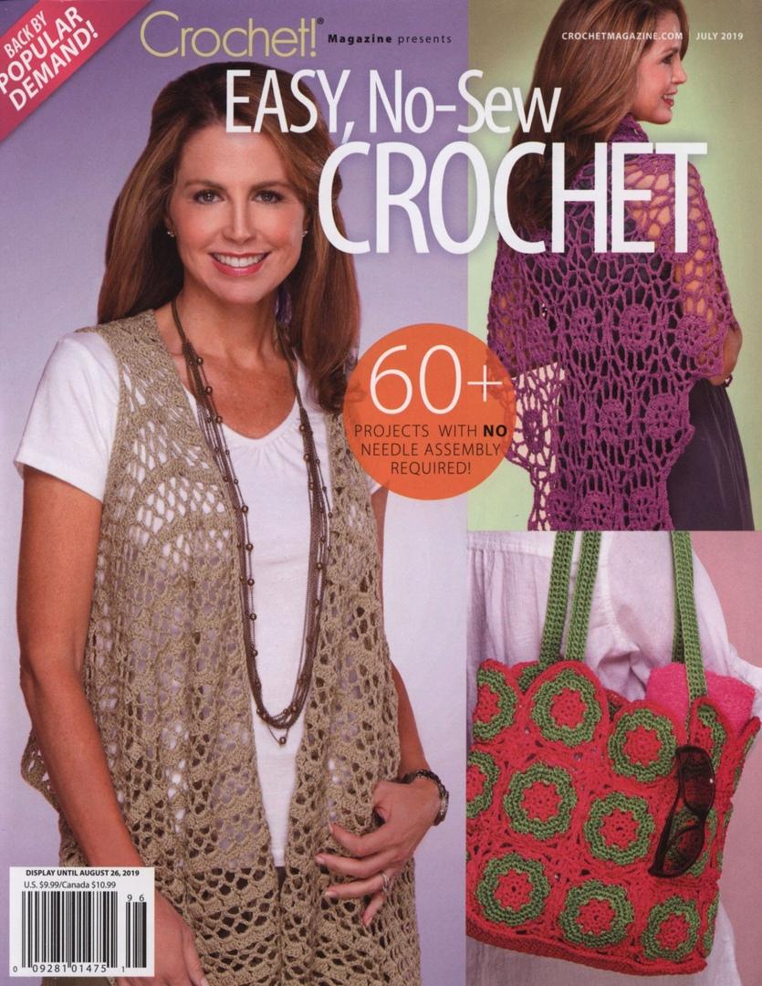 Crochet! Easy, no-sew crochet 07/2019