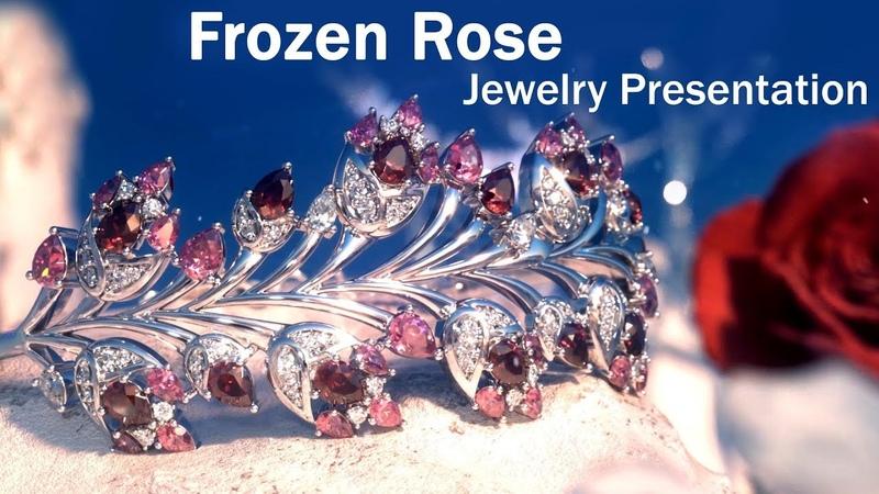 Frozen Rose - Jewelry Creative Animation