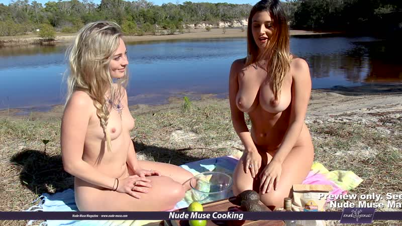 Nude Muse Cooking S07E04 Scarlett-Morgan and Cosmic-River