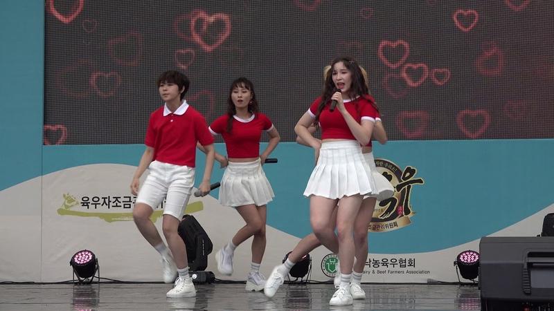 [4K] 걸그룹 비바(VIVA) - 시크릿파라다이스(Secret Paradise) Love Love Love ◎ 그린어스 뮤직쇼 ★ 직캠 humoresque76