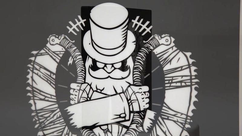 Игровая кастомизированная консоль PS4 PRO Disgusting Men от Rainbo
