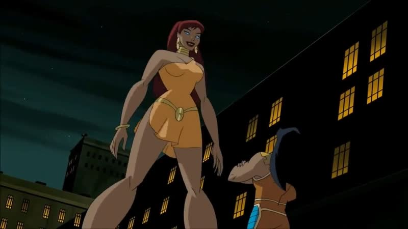 All Giganta scenes in Justice League/Justice League Unlimited