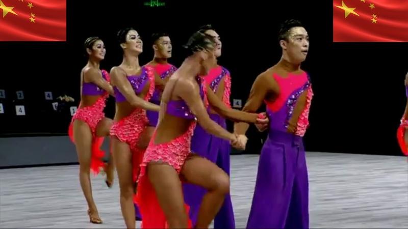 World Formation Latin 2018 Shenzhen(深圳) CHINA(中国) Beijing(北京) Dancing Academy - Adventure Drifting