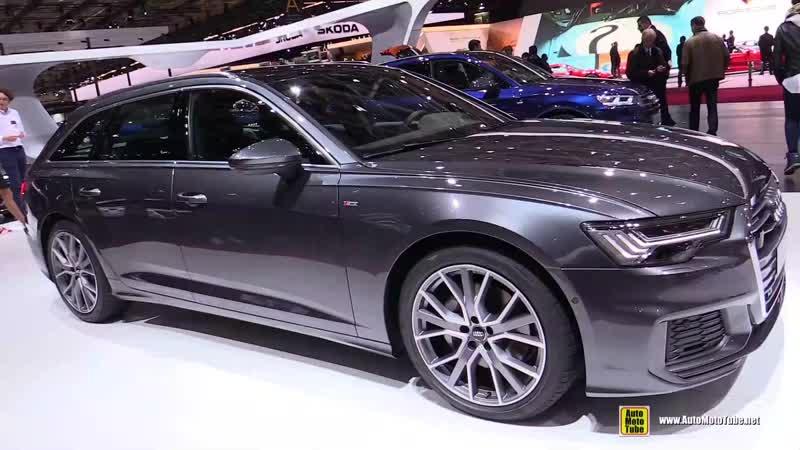 2019 Audi A6 50 TDI Quattro Avant - Exterior and Interior Walkaround - 2018 Paris Motor Show