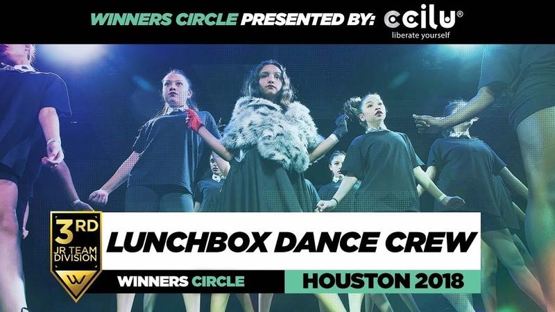 Lunchbox Dance Crew | 3rd Place Jr Div | Winners Circle | World of Dance Houston 2018 | WODHTOWN18 | Danceproject.info