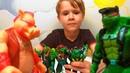 Черепашки Ниндзя TMNT Игрушки для мальчиков Видео для детей