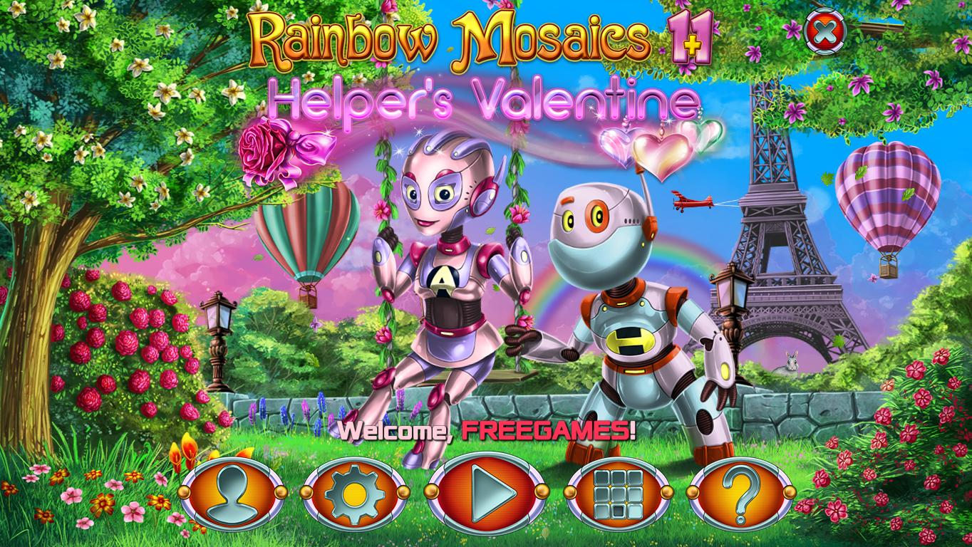 Радужная Мозаика 11: Валентинка Помощника | Rainbow Mosaics 11: Helper's Valentine (En)