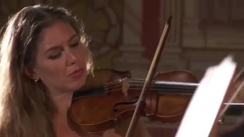 J. M. Leclair - Violin Concerto Op 7 No 2 D major - La Diane Francaise [Stephanie Marie Degand]