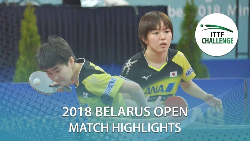 Saki ShibtaSatsuki Odo vs Barbora B.Hana Matelova | 2018 ITTF Belarus Open Highlights (Final)