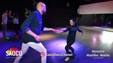 Marco Ivanyk and Aleksandra Voronina Salsa Dancing at Moscow MamboMania weekend, Friday 26.10.2018
