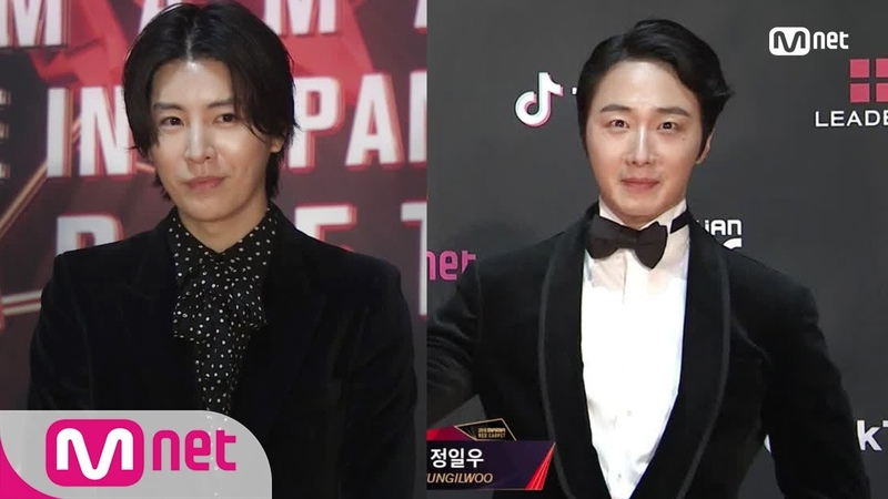 Red Carpet with MINUE Jung Il Woo│2018 MAMA FANS' CHOICE in JAPAN 181212