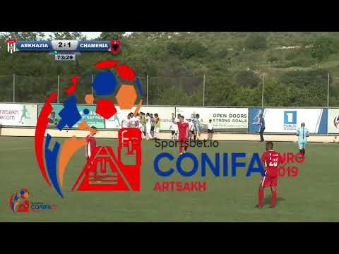 Goal by Shabat Logua [Abkhazia - Chameria - 31]
