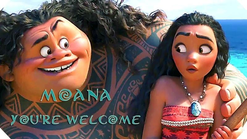 MOANA - YOU'RE WELCOME - A Soundtrack with lyrics