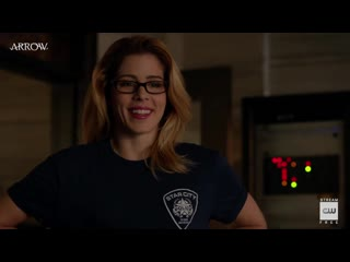 Arrow - Inside- Training Day - The CW