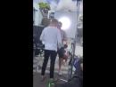 Личные видео / Джереми и каст Маммы Мии на промоушене фильма в Греции, 20.09.2018