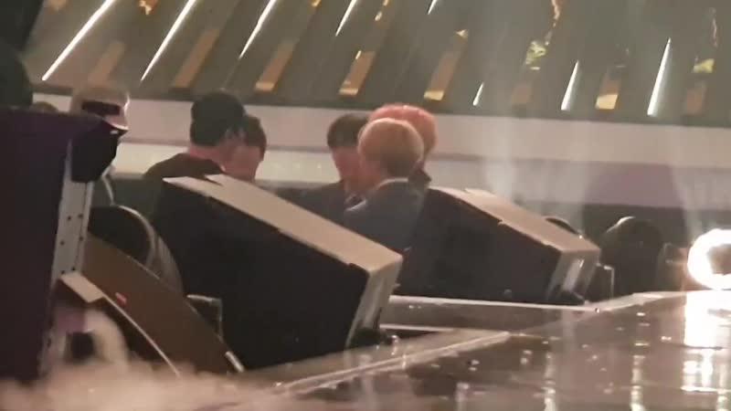 190101 MBC 가요대제전 무대올라오기전 귀여워ㅋㅋㅋ JIN 석진 BTS 방탄소년단 석진이는 온 세상의 빛