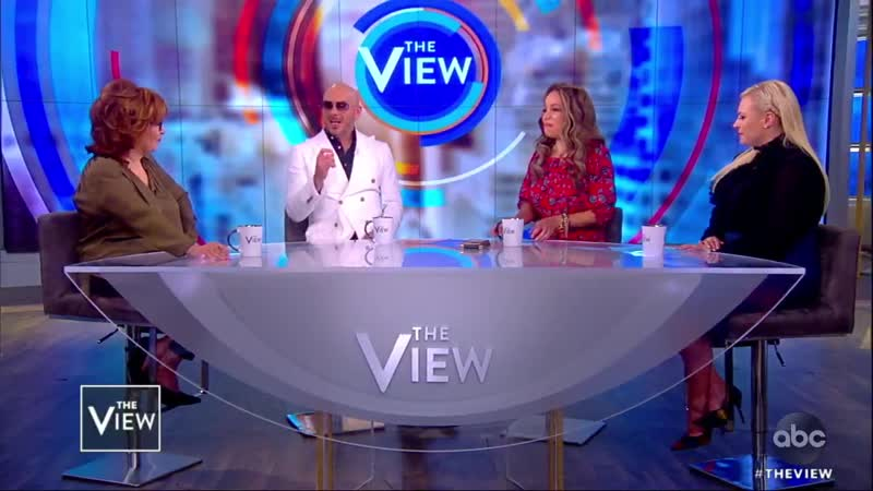 The VIEW Pittbull On Puerto Rico Immigration