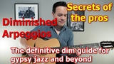 Dim Arpeggios in Gypsy Jazz Improv - The Definitive Guide