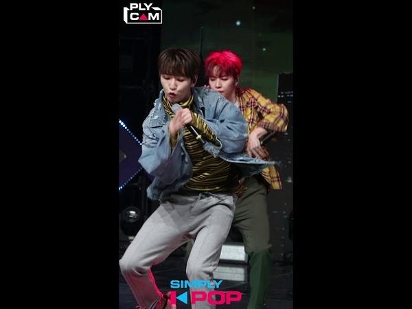 [LIVE] 190329 100%(백퍼센트) 'Still loving you' Hyukjin Cam @ Simply K-Pop Ep.355