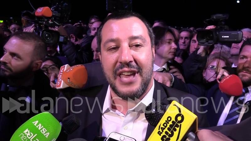 Manovra, Salvini Governeremo 5 anni, sto benissimo con Conte e Di Maio