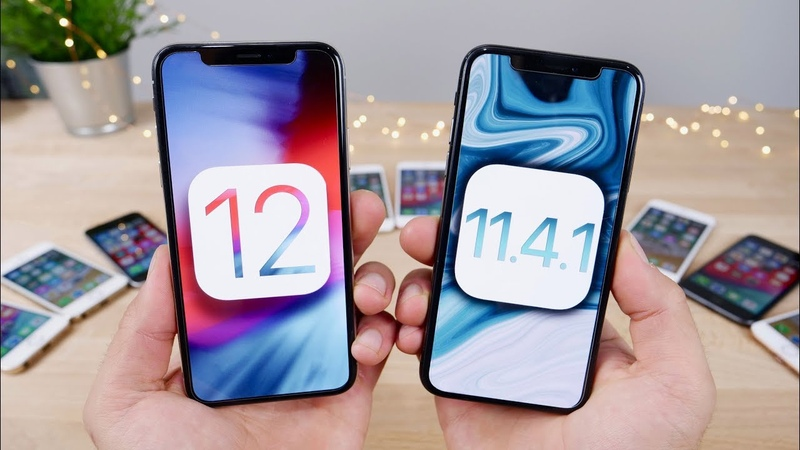 IOS 12 vs 11.4.1 FINAL Speed Test! Actually 2x Faster