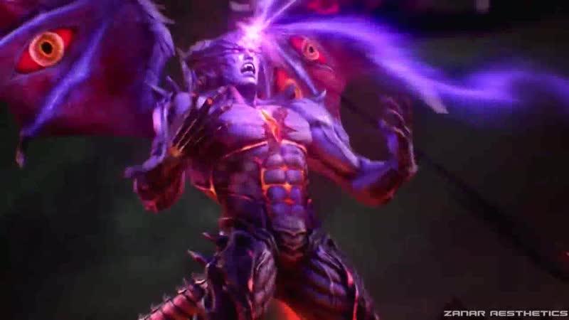 Гневный Бодхисаттва VS Демон (последний бой Казуи. Тэккен)