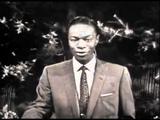 Nat King Cole - Autumn Leaves (lyrics)