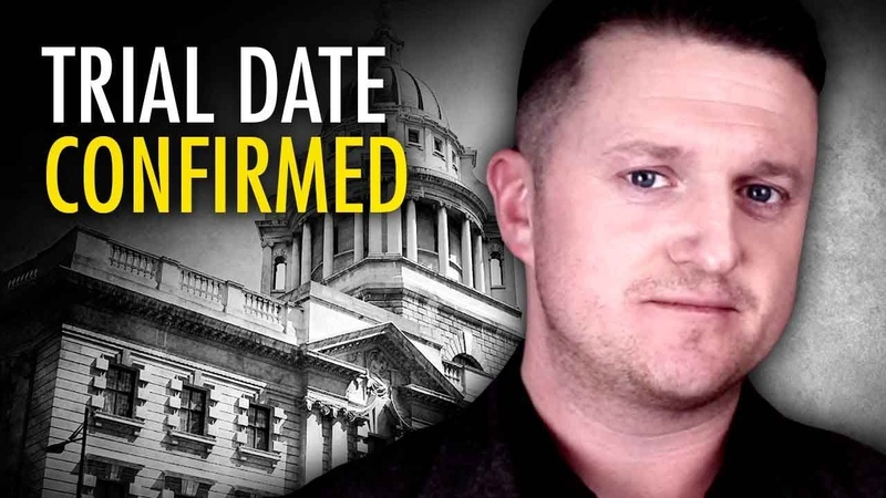 Tommy Robinson trial CONFIRMED for Oct 23 Ezra Levant