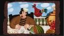 Большой петух Русская сказка Гора самоцветов The Giant Rooster Kids Tv Russia